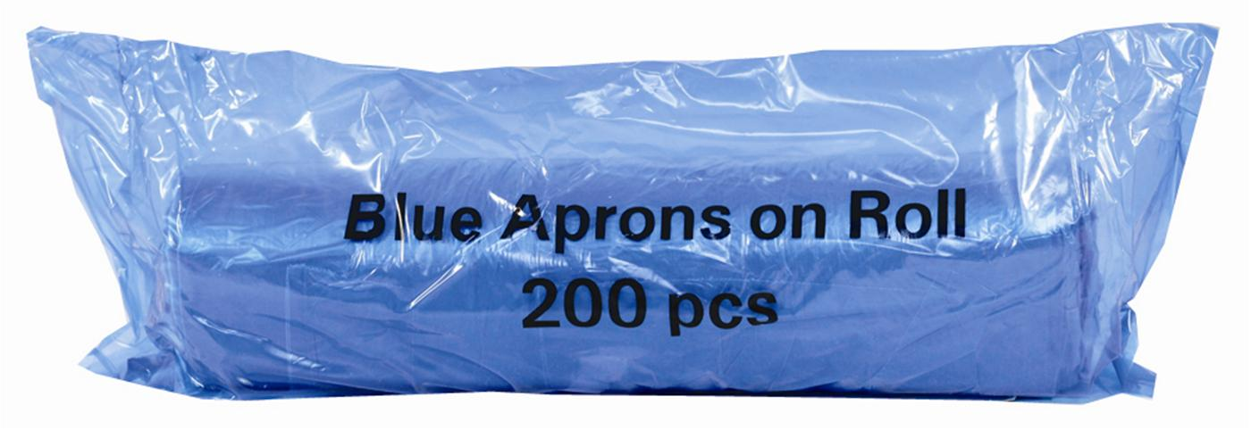 Economy Disposable Aprons on a Roll