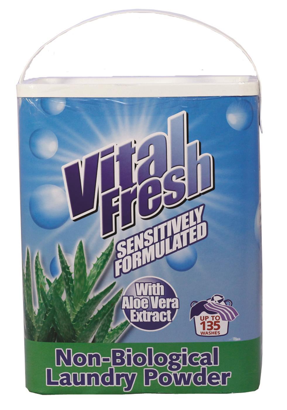 Vital Fresh Non-bio Laundry Powder 10kg