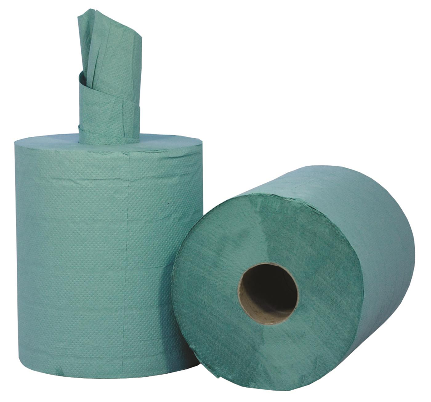 PRO Tufcel Dairy Green Centrefeed Roll 2 Ply 140m