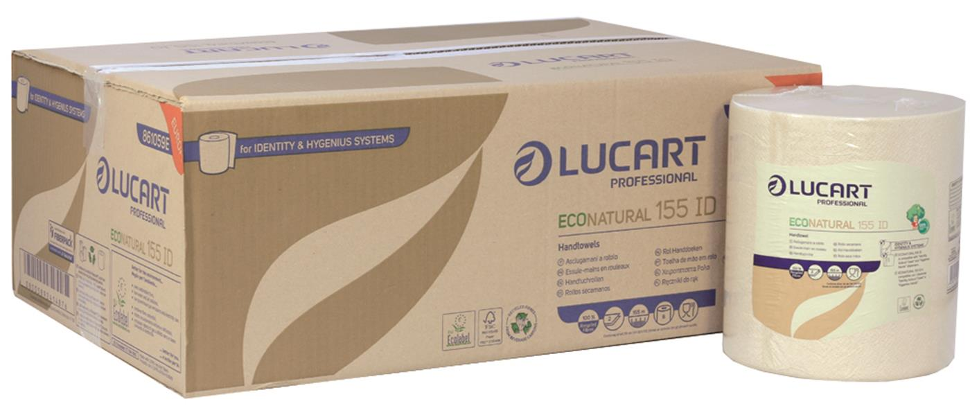 EcoNatural IDENTITY 2 Ply Roll Towel Unbleached