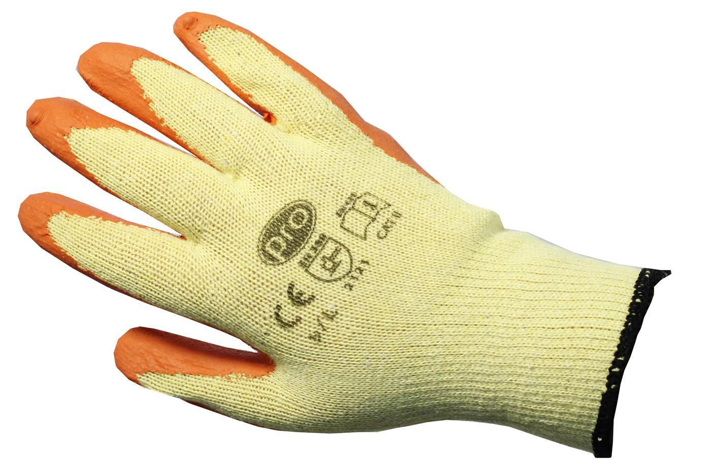 PRO Orange Gripper Gloves