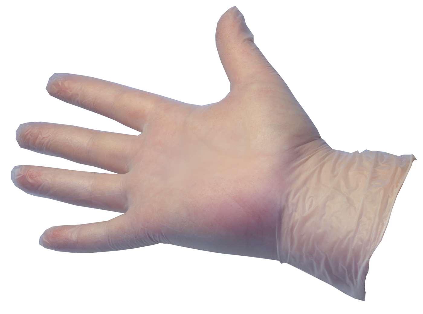 PRO Powder-Free Clear Vinyl Gloves