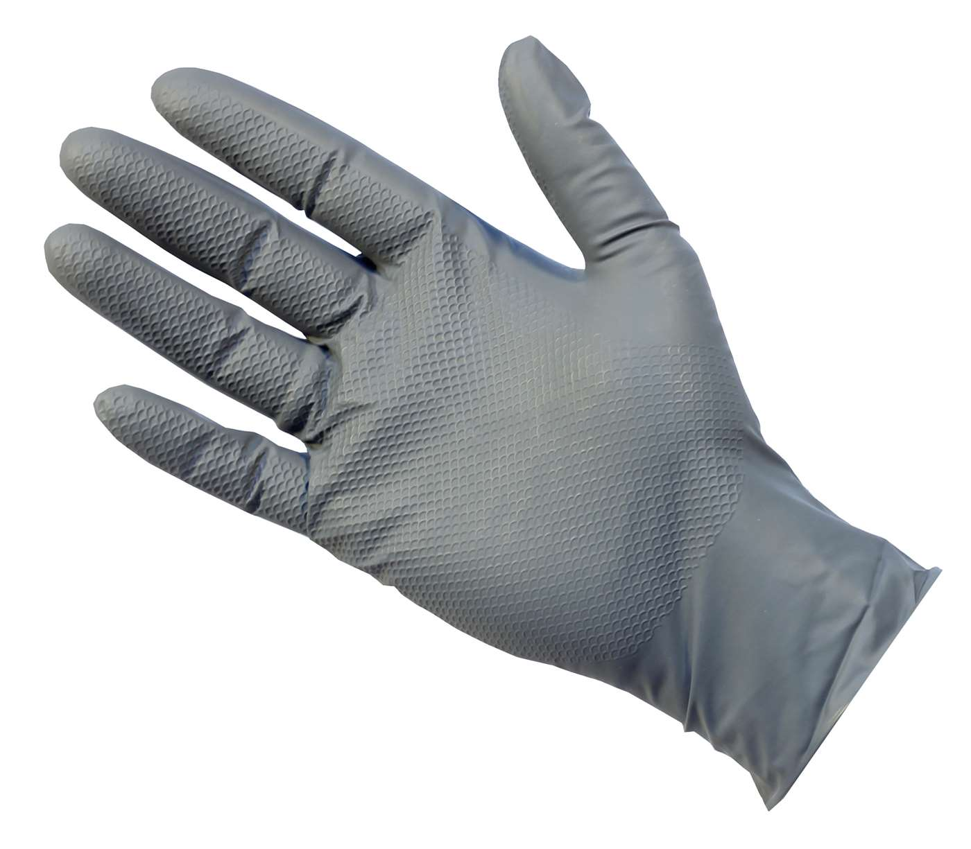 UltraGRIP+ Grey Nitrile Gloves