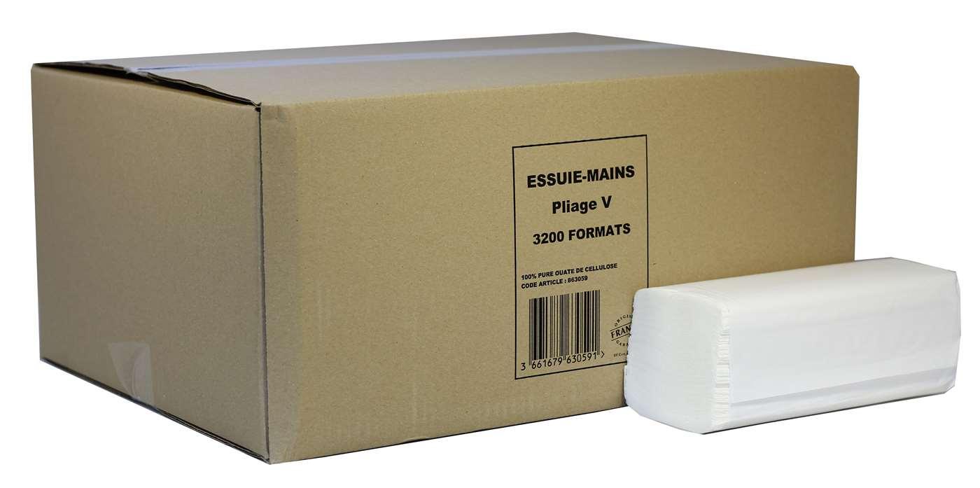 Lucart V-fold 2 Ply White Paper Hand Towel 863059