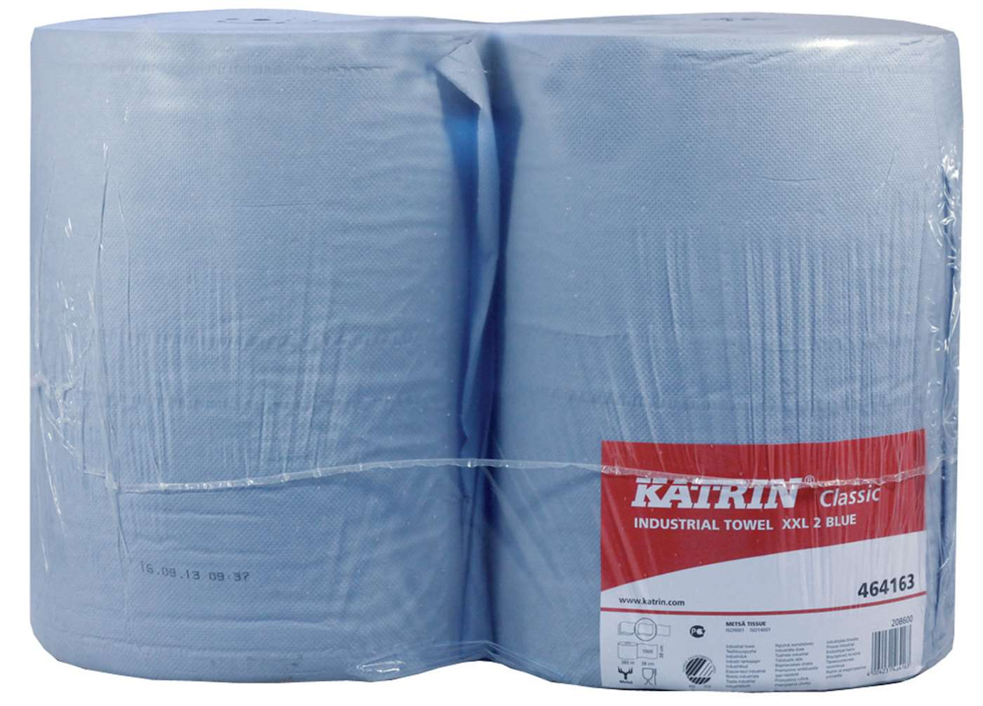 Katrin Classic XXL2 Blue Industrial Wiping Roll 464163