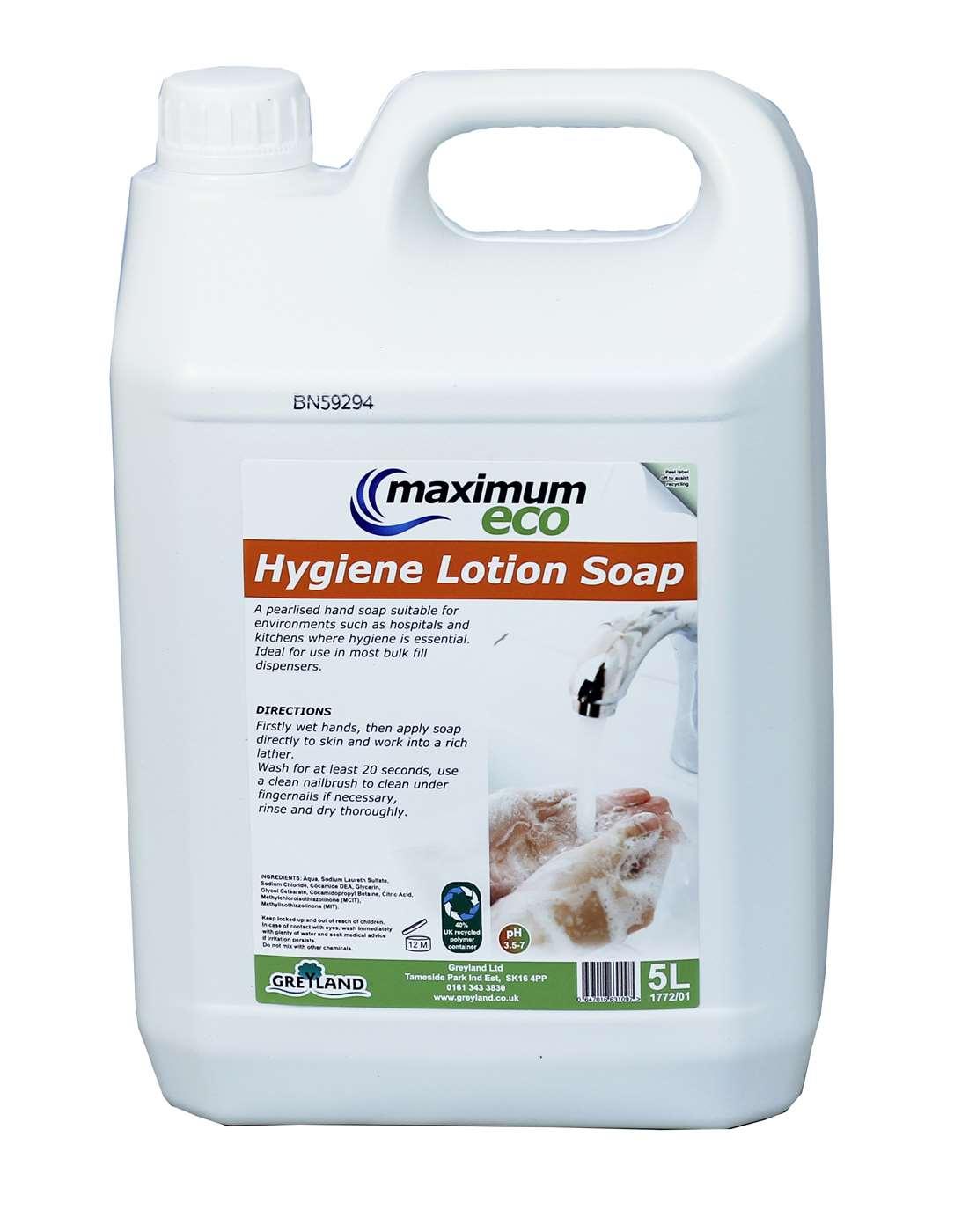 Hygiene Lotion Soap 2 x 5L