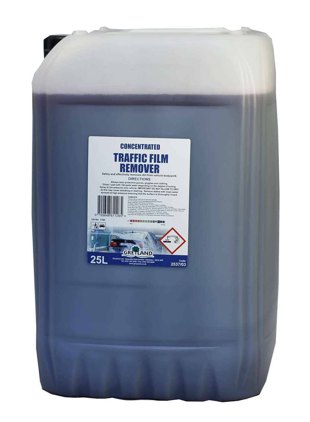 Concentrated Traffic Film Remover