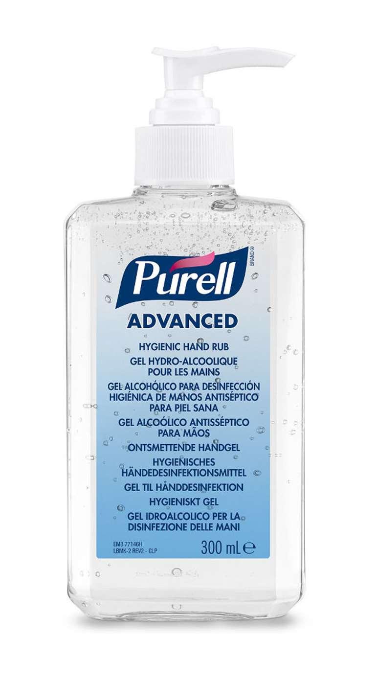 Purell Alcohol Hand Sanitiser Pump Bottle