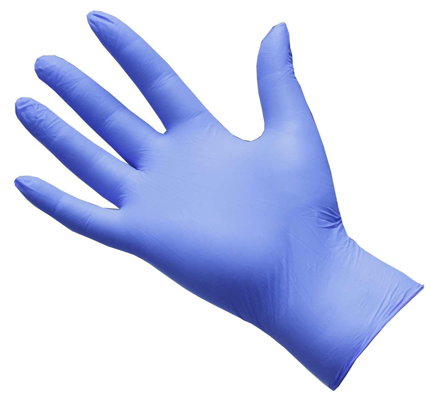 GEN X Violet Nitrile Gloves