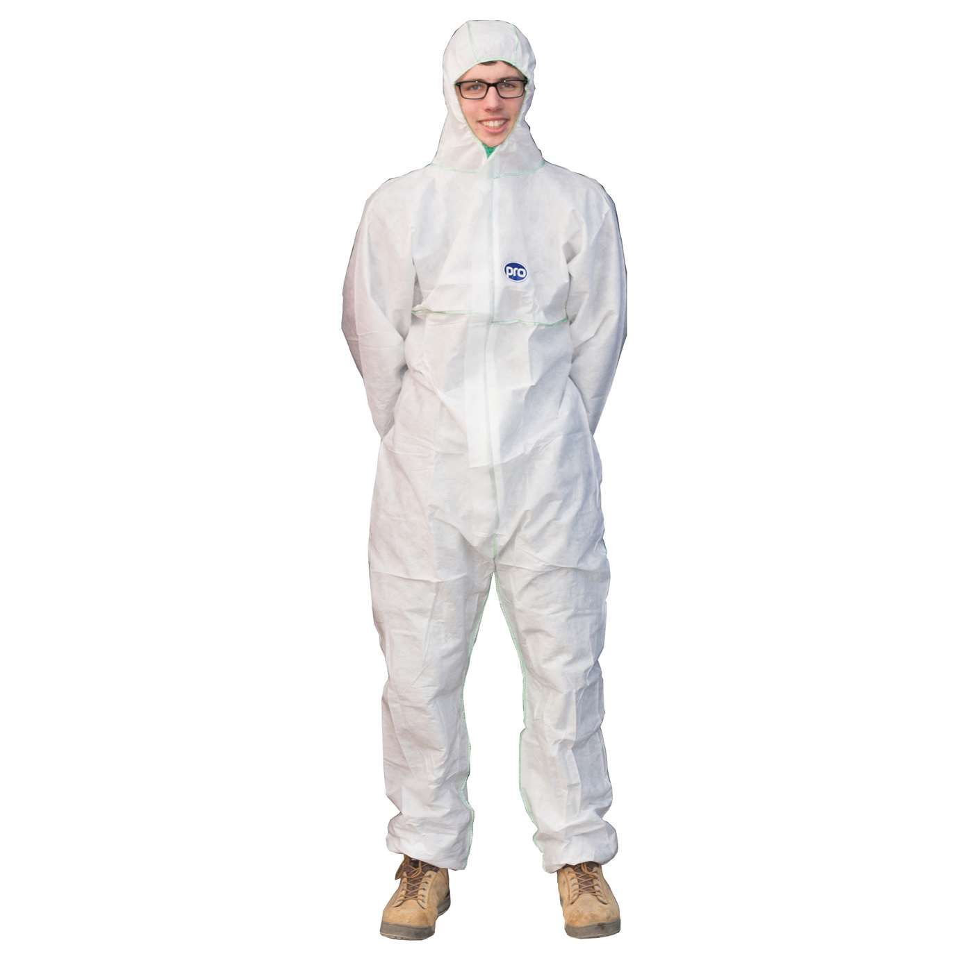 PRO SMS Coverall Type 5/6 White