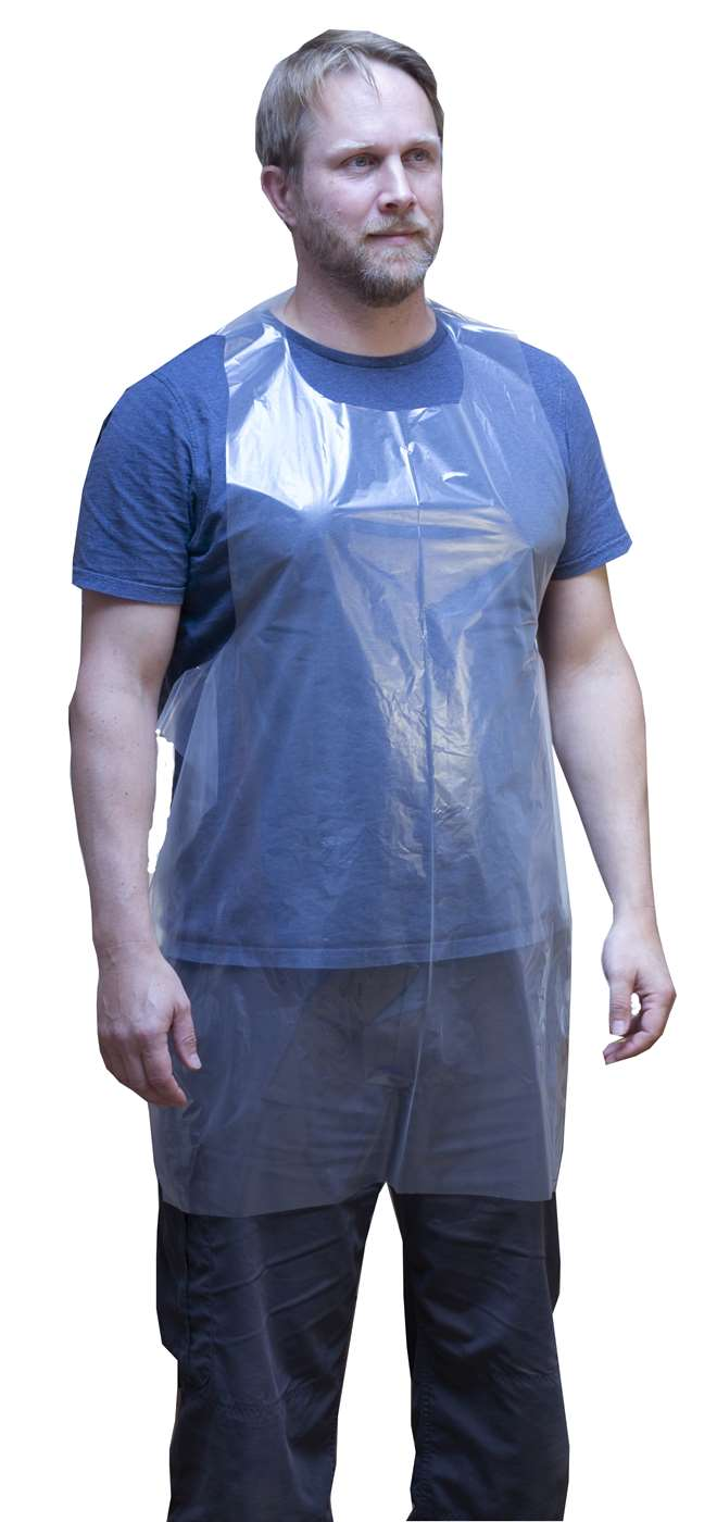 Super Heavy Duty Disposable Aprons Flat Pack